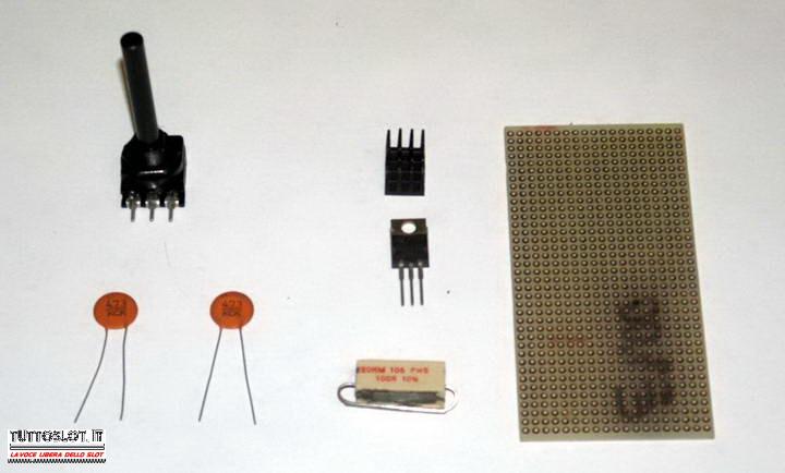 Schema Elettrico Riduttore Di Tensione Da 24v A 12v : Tuttoslot tecnica costruire un variatore di tensione