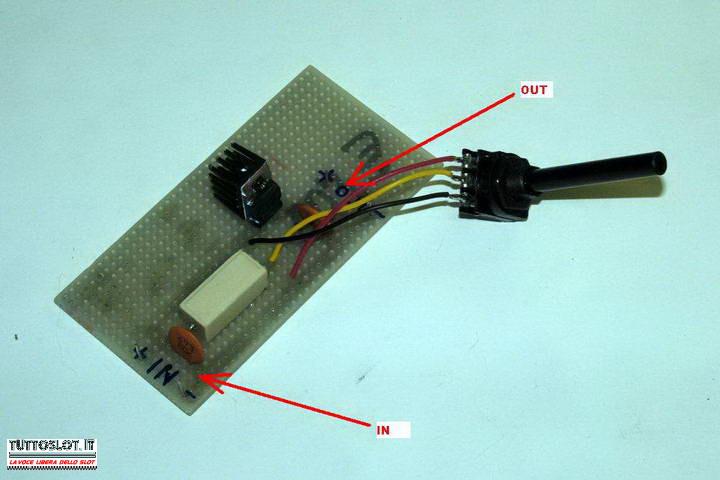 Schema Elettrico Regolatore Di Tensione : Tuttoslot tecnica costruire un variatore di tensione