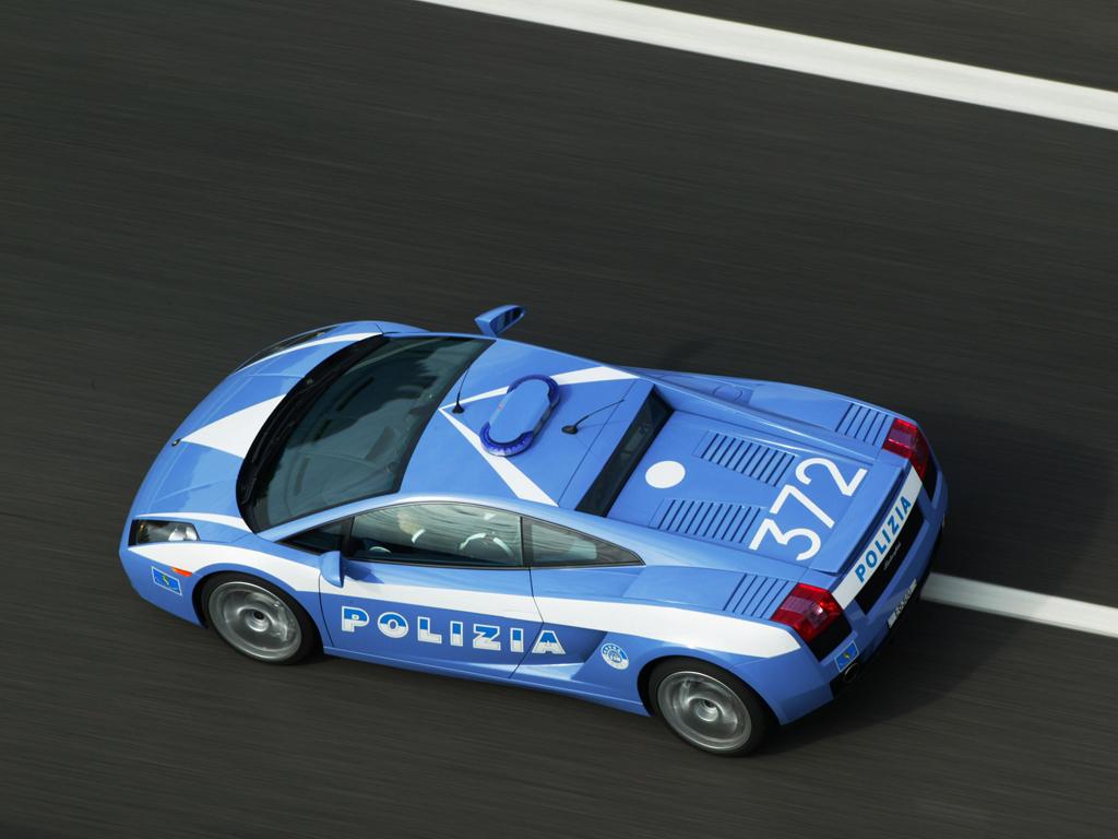 Tuttoslot Test Test Lamborghini Gallardo Polizia 124 By Autoart