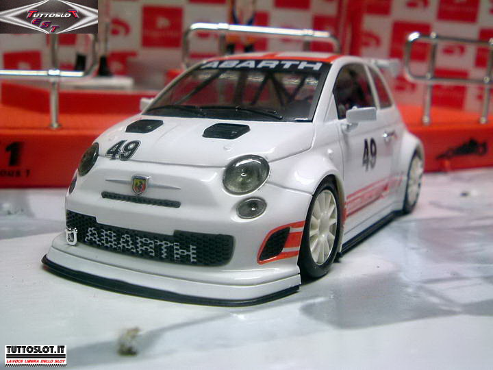 Tuttoslot test team abarth 500 assetto corse nsr for Modelli 500 abarth