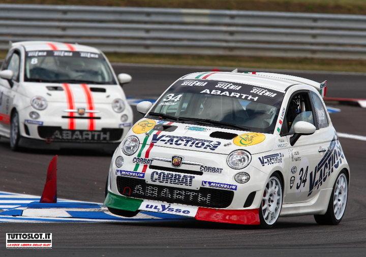 Tuttoslot Test Team Abarth 500 Assetto Corse Nsr